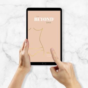 Beyond DNA Weight - Analyse als PDF auf Tablet