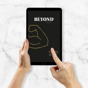 Beyond DNA Fitness - Analyse als PDF auf Tablet