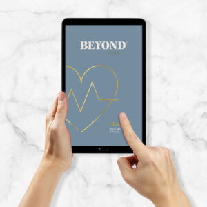 Beyond DNA Health - Analyse als PDF auf Tablet