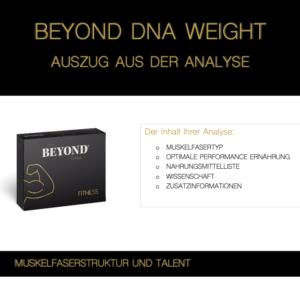 Beyond DNA Fitness - Auszug aus der Analyse Fitness