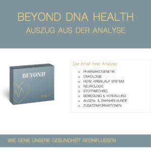 Beyond DNA Health - Auszug aus der Analyse Health