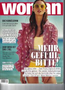 Zeitschrift Woman