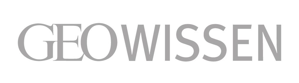 Logo der Zeitschrift GEO Wissen in s/w