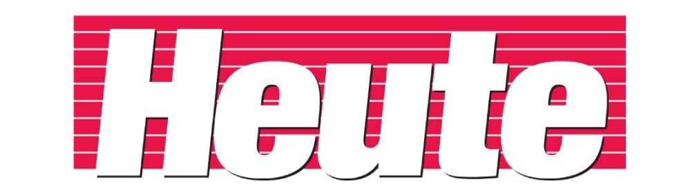 Logo der Tagesezeitung heute in Farbe