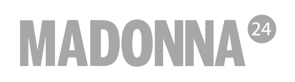 Logo der Zeitschrift MADONNA in s/w