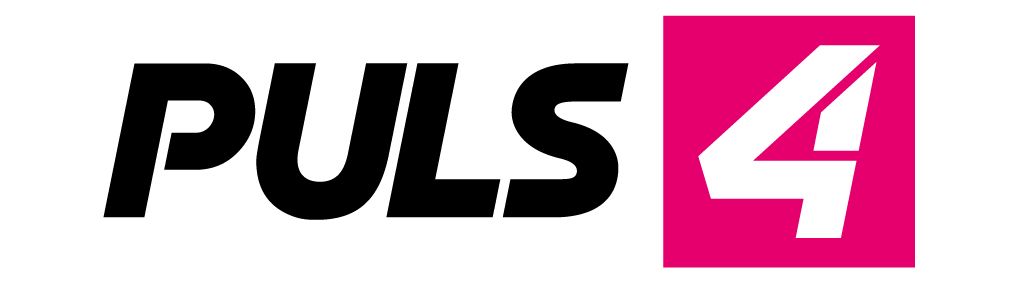 Logo des TV-Senders Puls4 in Farbe