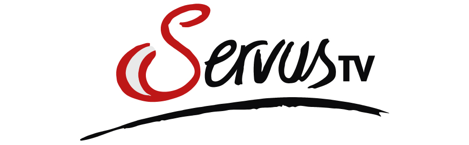 Logo des TV-Senders Servus in Farbe