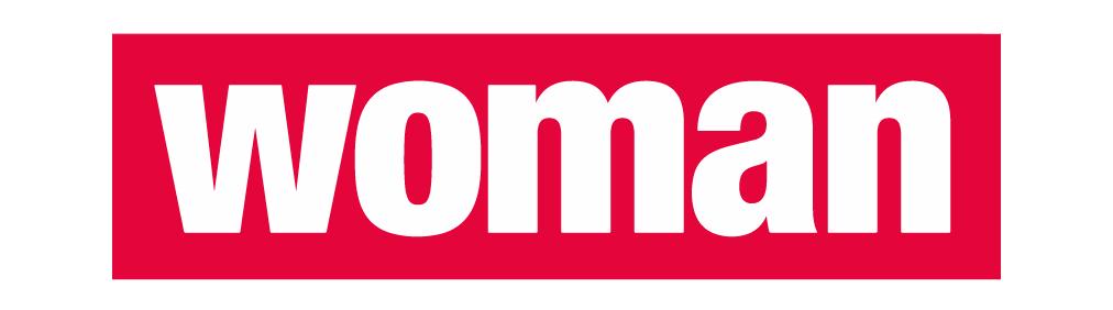 Logo der Zeitschrift Woman in Farbe